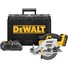 DEWALT 20V MAX Cordless Lithium-Ion 6-1/2 in. Circular Saw Kit DCS391P1 New