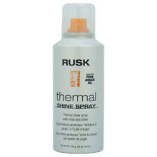 Thermal Shine Spray by Rusk for Unisex - 4.4 oz Hair Spray