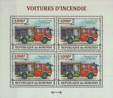 MERCEDES-BENZ ATEGO LF 10/6 Ziegler Fire Engine Vehicle Stamp Sheet