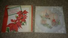 1947 vintage VOCO RECORD GREETING CARD #203 picture MERRY CHRISTMAS MOTHER DEAR