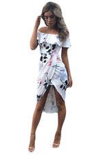 Unbranded Boho Women's Off the Shoulder Dresses