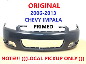 2006-2013 chevy impala front bumper cover (primed) 10337094