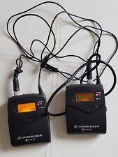 Sennheiser ew100 g3 Bodypack Transmitter(SK100) & Receiver (EK100)