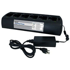 Endura 6 Unit Gang Charger for Hytera Pd782G Pd782 Pd702 Pd602 Pd702G