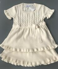 BNWT BUTTERSCOTCH LONDON GIRLS PINK /& CREAM DRESS /& LEGGINGS SET AGES 2 /& 6 YRS