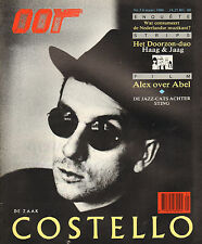 MAGAZINE OOR 1986 nr. 05  - ELVIS COSTELLO(COVER)/GERRIT DE JAGER/ALEX WARMENDAM
