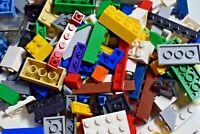 LEGO 100x Bricks Plates Slopes Choose your colour + 1 Mini Figure RANDOM JOB LOT