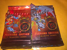 13 OUTBURST FIREPOWER - DC COMICS PREMIERE EDITION - BOOSTER 7 TRADING CARDS