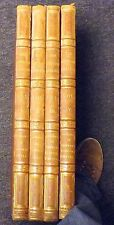 ENGRAVINGS OF THE MOST NOBLE ELEPHANT FOLIO SET OF 4 BENSLEY & SON, LONDON 1818