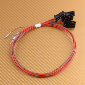 4pcs Door Light Wire Harness Cable fit for VW Passat Tiguan Golf Jetta CC SKODA