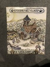 Boyds Bearly-Built Villages Baileys Cozy Cottage Brand New Never Opened