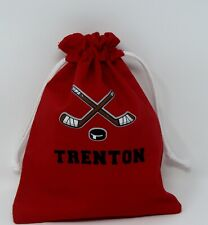 Personalized Hockey Gift Bags/ Treat Bags