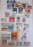 Collection timbres France oblitérés - Année 2001 - Voir photo