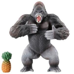 TAKARA TOMY Ania AS-36 Gorilla and Pineapple Wild Ver. Mini Animal Figure Toy