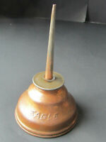 "Vintage 6"" Eagle Oil Can Squirter Thumb Pump Press Oiler Dispenser, USA,"