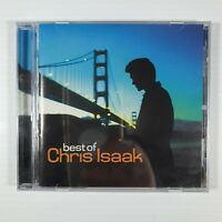 CHRIS ISAAK - BEST OF CD ~ WICKED GAME~SOMEBODY'S CRYING ~ 80's / 90's POP *NEW*