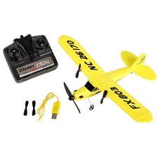 Remote Control Airplane Aircraft 2.4G 2CH RC RTF Yellow EPP Foam Plane Glider SH