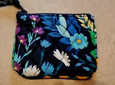 VERA BRADLEY Midnight Blues Small Cosmetic Case NEW W.out TAG!