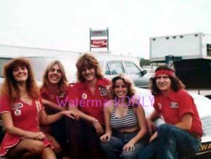 """Trojan Horse"" ""Back Up Girl"" ""Emel"" '70s NITRO Funny Car Crew PHOTO! #(29)"