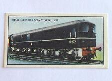 Modern British Diesel Locomotives Railway Daily Ice Cream Trading Card (B11)