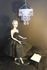 DIORAMA - Barbie, Fashion Royalty, Battery operated CHANDELIER -Round - NEW