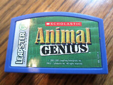 Leapster Leap Frog Animal Genius Game