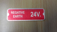 Land Rover Series 3 Defender Military Wolf 24v FFR Negative Earth Plate 598701
