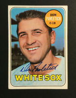 Don Pavletich White Sox signed 1969 Topps baseball card #179 Auto Autograph 2
