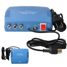 RF Modulator AV-RF AV to TV RCA Ant Input to F Type Coax Output Converter 220V