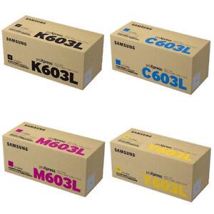 Genuine Samsung CLTK603L Toner Cartridge Value Pack C4060 C4010