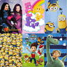 Official Licensed Character Fleece Blankets Kids Boys Girls Bed Children Gift