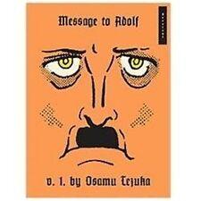 Message to Adolf, Part 1, Tezuka, Osamu, Good Book