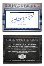 Lucas Sims Cut Signature Card 1/1 AUTO Atlanta Braves 2012 1st Rd Draft Pick