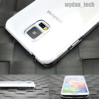 For Samsung Galaxy S5 Slim Clear Transparent Hard Case Phone Cover
