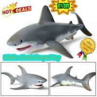 Lifelike Shark Shaped Toy Realistic   Animal Model For Kids