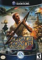 Medal of Honor Rising Sun Nintendo Gamecube Game Used