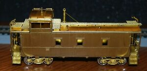 Overland Models D&RGW Steel Caboose 1400 series, Modern Riveted--new old stock