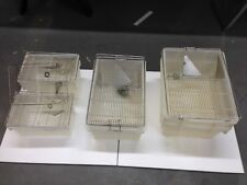 MOUSE LABORATORY CAGE MEDIUM SIZE  18.25X7.25X11.75 APP.(PACKED 6 TO A BOX)