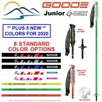Ski Poles - 2020 & 2019 Junior G Max Composite Kids - 34 to 42 ""