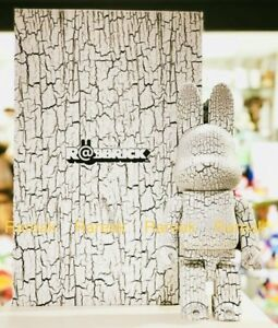Medicom Be@rbrick Rabbrick White Birch Style Wood 400% Wooden Bearbrick R@bbrick