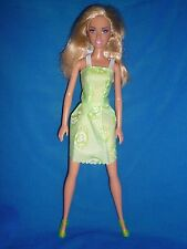 Barbie Doll ~ Blonde Hair Still Part With Cellophane ~ Straight Legs