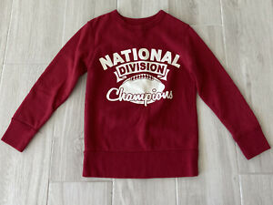 Place Youth M 7/8 Athletic Division Red Sweatshirt