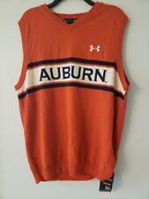 Auburn University Under Armour Sideline Sweater Vest  Size Large