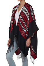 Ladies Blanket Like Cape-Cardigan-Poncho  Size 14-16-18-20-22 One Size