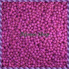400 Perline di legno 6 mm