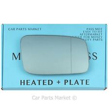 For Volvo s70 v70 1996-00 Right side Blue Aspheric Electric mirror glass +plate