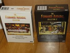 Fernando Arrabal Collection 1 & 2 (DVD) 2 Box Set! 6-Disc! Limited Edition! NEW!