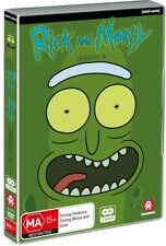 BRAND NEW Rick And Morty : Season 3 (DVD, 2018, 2-Disc Set) *PREORDER R4