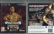 Supremacy MMA PS3 - New (factory sealed)