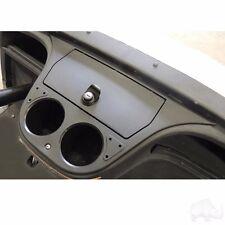 Yamaha Drive Golf Cart Car Dash Board Insert Black Lockable Compartment